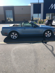2006 Mustang GT Convertible - Extremely low km's