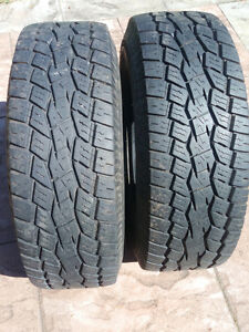 Toyo Tires - like new