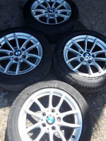 "16"" BMW 1 series, style 378, F20/F21 alloy wheels (251)"