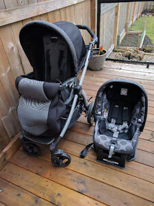 PegPerego Stroller and Carseat