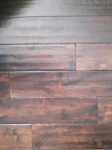 Hand Scraped Oak Hardwood Flooring