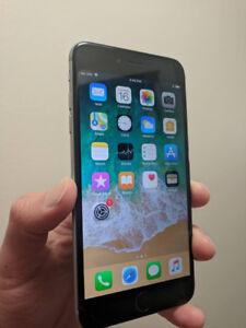 Black Space Grey Iphone 6 Plus 64 GB UNLOCKED - $280 FIRM