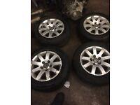 Volkswagen 15 inch alloys