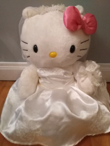 Hello Kitty Wedding - Build a Bear Teddy