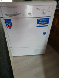 Indesit condenser dryer 8kg, IDC8T3 working order, free delivery