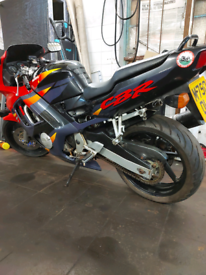 Honda cbr 600 f, fresh mot, swap for 1000 cc bike