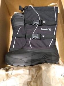 Brand new in box Kamik waterproof  boots