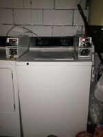 Coin laundry: Washer and dryer for sale!