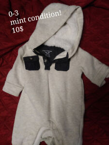 Baby winter stuff. Good condition