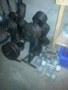 Weights for sale// Home gym  Kitchener / Waterloo Kitchener Area image 3