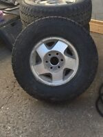 16 inch Chevy/gmc rims and tires