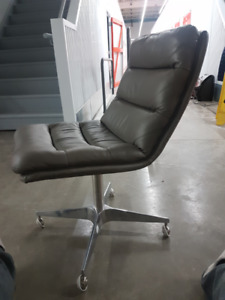 Griffiths leather desk chair (from restoration hardware)