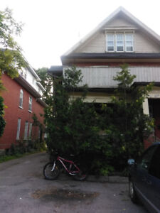 One bedroom, 2nd and 3rd floors of house, big deck, near downtow