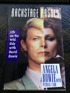 Backstage Passes:Life on the Wildside with David Bowie-Hardcover