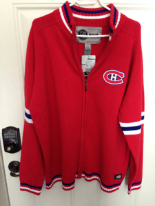 VINTAGE NHL MONTREAL CANADIENS RED SWEATER XXL