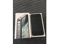 iPhone 4s - 16gb - black - unlocked