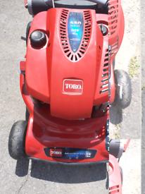 Toro recycling lawn mower