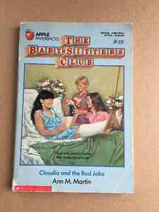 The Baby-sitters club- Claudia and the Bad Joke