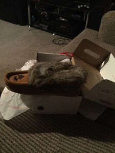 Brand new moccasins new in box