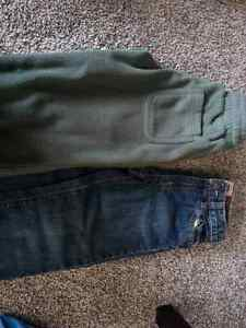 Boys jeans old navy and thick fleece pants size 5 - NEW PRICE! London Ontario image 2