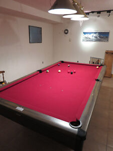 Billiard Table 4 x 8 with accessories