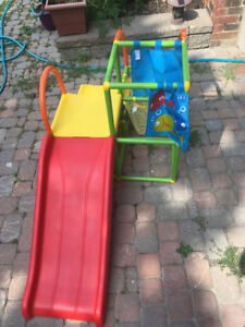 Toddler slide and play structure