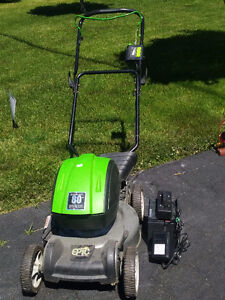 lawnmower - battery