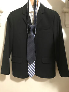 Suit Jacket, Pants, Dress Shirt, 2 Ties, and Shoes for 10-12 yrs