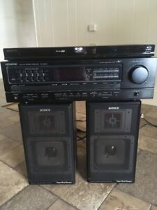 Kenwood Speaker System and Blu-Ray Player