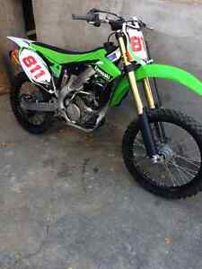 2014 Kawasaki KX250f one owner for sale or trade