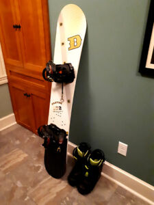 Drake snowboard/bindings and Forum boots