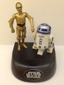 Star Wars R2-D2, Darth, Jar Jar, Qui-Gon 1990's Talking Banks