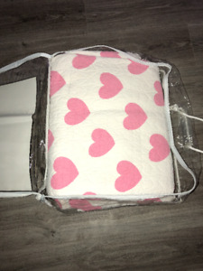 Heart Patterned Quilt