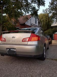 2004 Infiniti G35 Luxury Sport Sedan