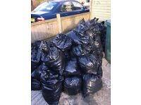Free Soil , bagged and ready to collect ! BS7