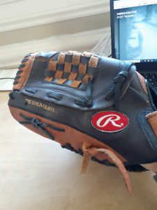 Rawlings baseball glove, for a lefty