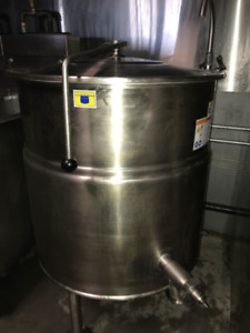 Cleveland 40 Gallon Stationary Steam Jacketed Electric Kettle