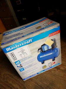 Mastercraft 2 u.s. Gallon air compressor NEW IN BOX
