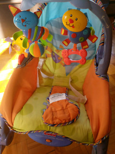 Chaise Fisher Price newborn-to-toddler rocker