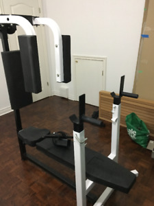 Northern Lights Workout Center Bench with Pec Deck Attachment