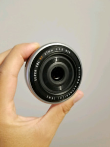Fujifilm XF 27mm f2.8 for your Canon 85mm f1.8
