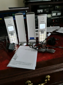 Digital Cordless Phone & Answering System. Twin Handset.