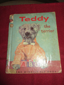 Teddy The Terrier (Wire Haired) - Elf Book 1956