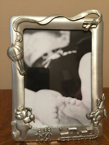 Seagull Pewter Baby Picture Frame