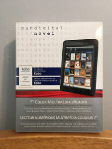 Pandigital Novel - Multimedia Colour eReader