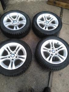 "Bmw 16"" rims & tires"