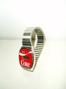 1980's Coca-Cola Digital Watch