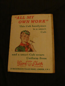 THE WOLF CUB ANNUAL 1960 (BOY SCOUT) collectible hardcover Belleville Belleville Area image 2