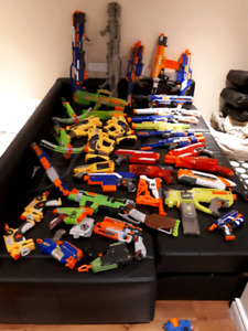 Nerf gun lot: recon cs-6 and dart one shot pistol
