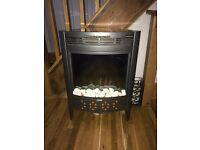 Biflame technology electric free standing fire